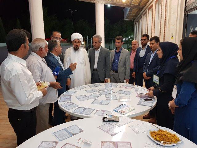 گردهمایی و ضیافت افطاری اصناف به مناسبت آغاز هفته اکرام ایتام برگزار شد+تصاویر